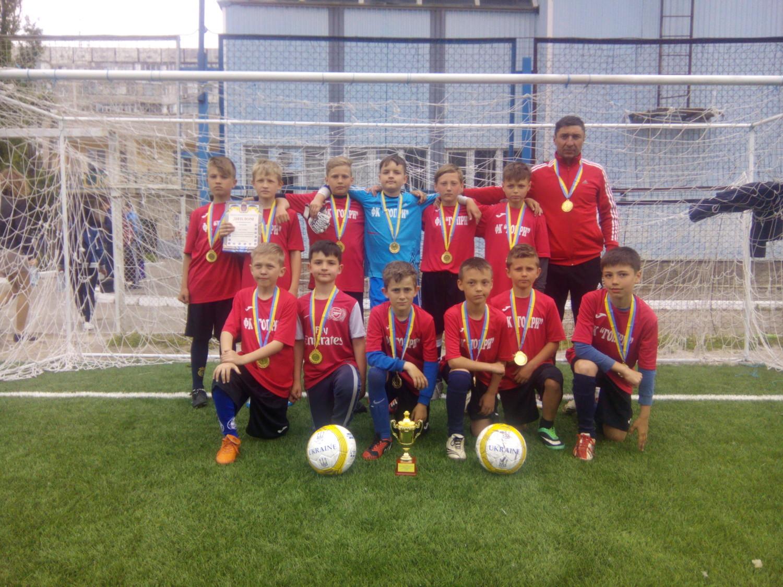 Голопристанські хлопчаки виграли обласні змагання з футболу