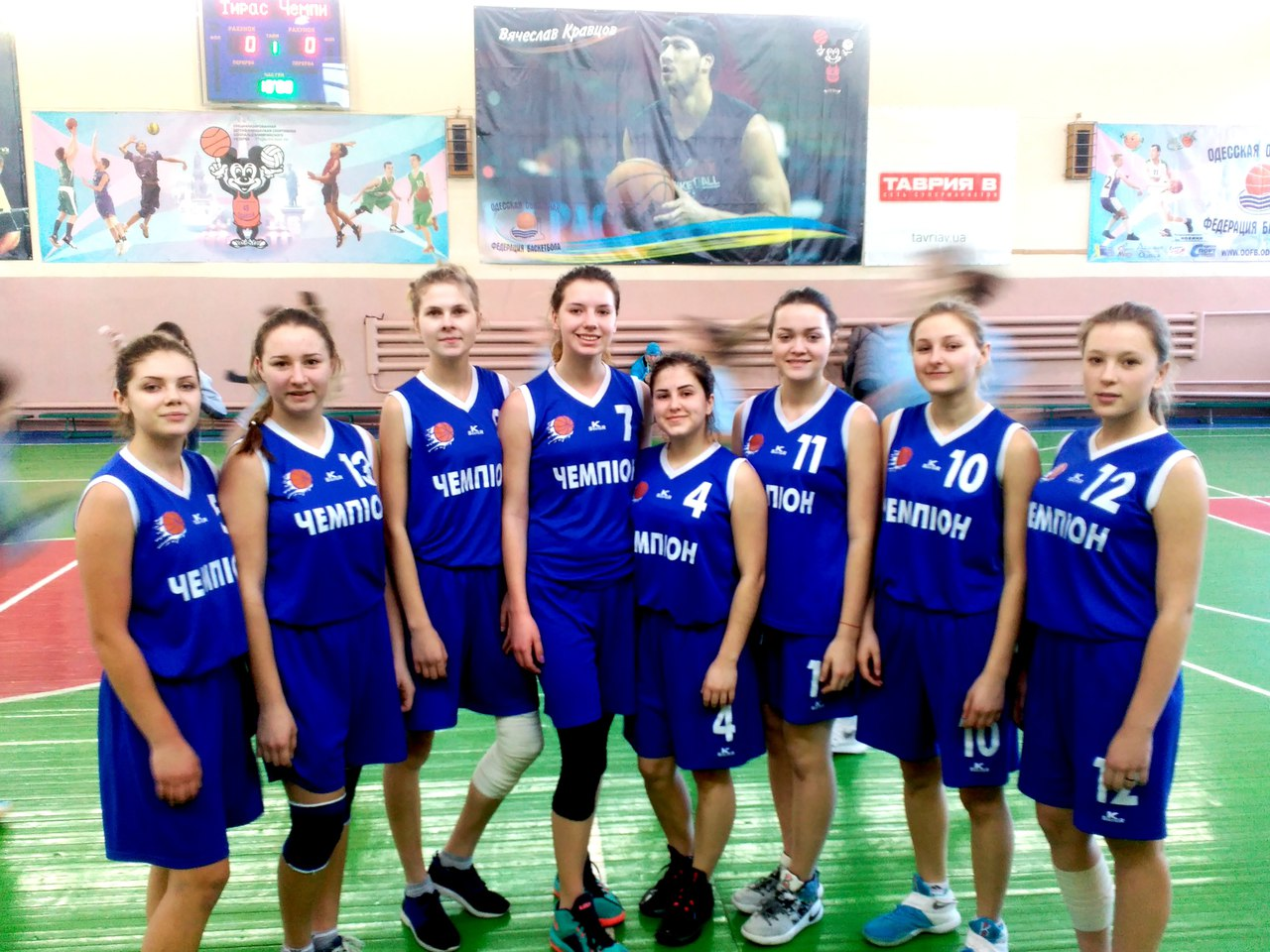 Голопристанські баскетболістки зіграли чергові ігри у юнацькій баскетбольній лізі