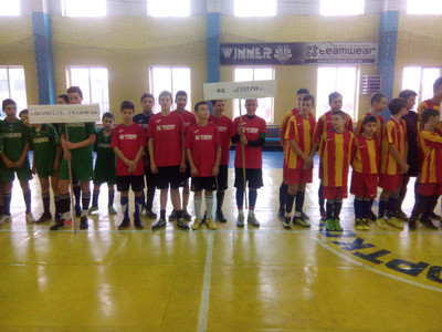 В Бериславі відбулися фінальні ігри чемпіонату Херсонщини з футзалу серед юнаків