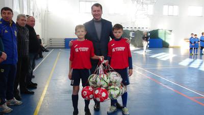Губернатор Херсонщини відкрив у Голій Пристані чемпіонат області з футзалу серед юнаків