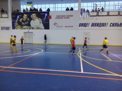 Вчора в Голій Пристані відбувся черговий етап чемпіонату Херсонщини з футзалу серед юнаків