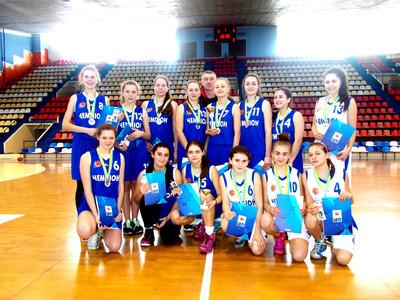 Голопристанські дівчата взяли участь у регіональному чемпіонаті України з баскетболу