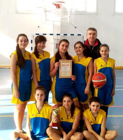В Голій Пристані відбулася міська Спартакіада серед школярів з баскетболу
