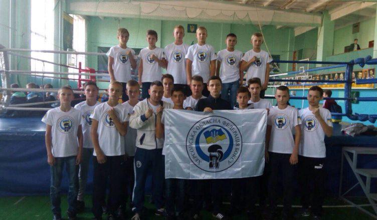 Голопристанські юні спортсмени вибороли золоту та срібну медалі на чемпіонаті України з боксу