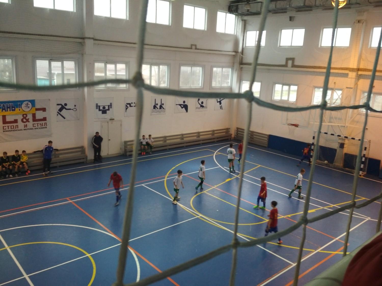 У Голій Пристані відбулись ігри першості області з футзалу серед команд юнаків 2005/2006 років народження