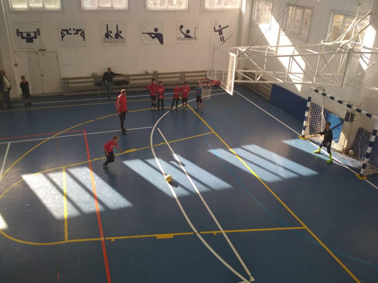 У Голій Пристані відбулася товариська зустріч з футзалу між командами ФК