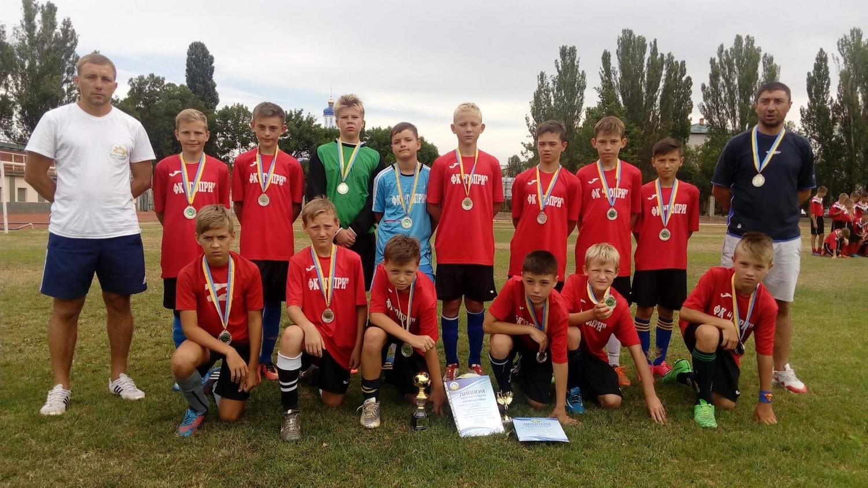 Голопристанські хлопчаки взяли участь у Всеукраїнських фінальних змаганнях з футболу