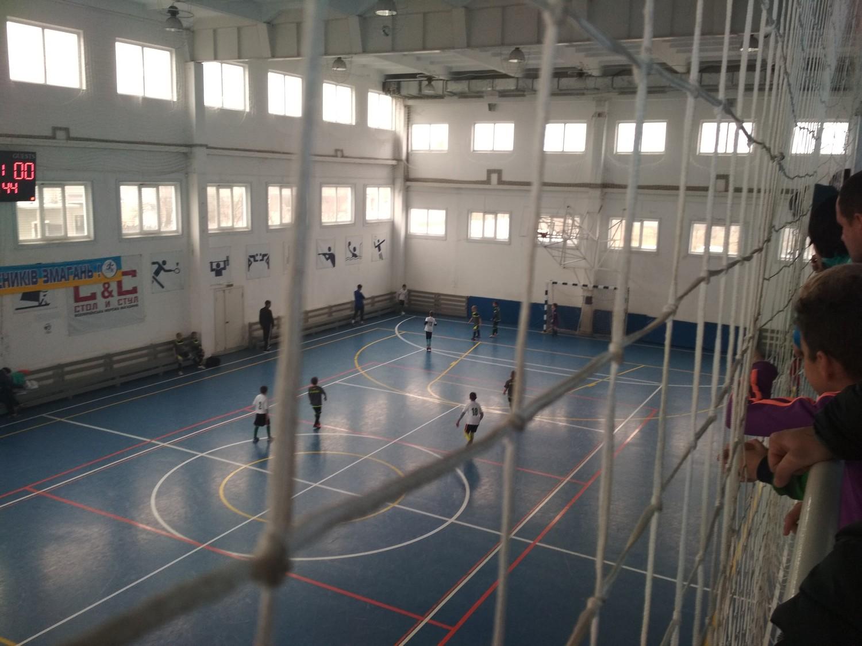 В Голій Пристані відбулись чергові ігри асоціації футзалу серед команд юнаків 2009/2010 років народження