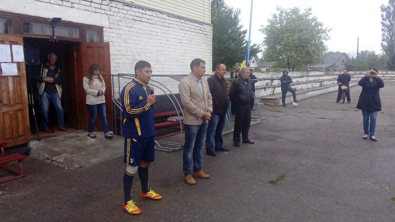 В Голій Пристані відбулось урочисте відкриття першості району з футболу