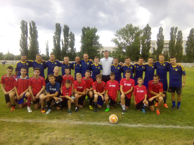 В Голій Пристані відбулися чергові ігри першості району з футболу