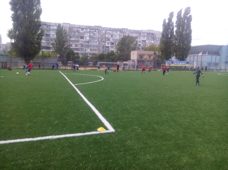 Голопристанські хлопчаки взяли участь у черговому турі чемпіонату Херсонщини з футболу серед команд юнаків
