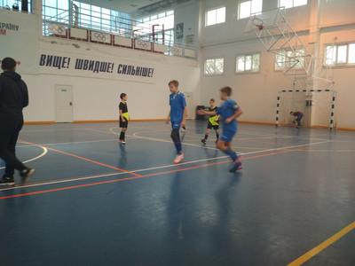 У Голій Пристані пройшли змагання з футзалу серед юнаків 2005/2006 років народження