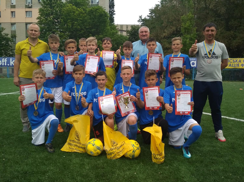 Голопристанські хлопчаки взяли участь у фінальних змаганнях з футболу