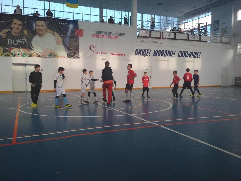 У Голій Пристані відбулись чергові ігри чемпіонату області з футзалу серед команд юнаків 2005/2006 років народження