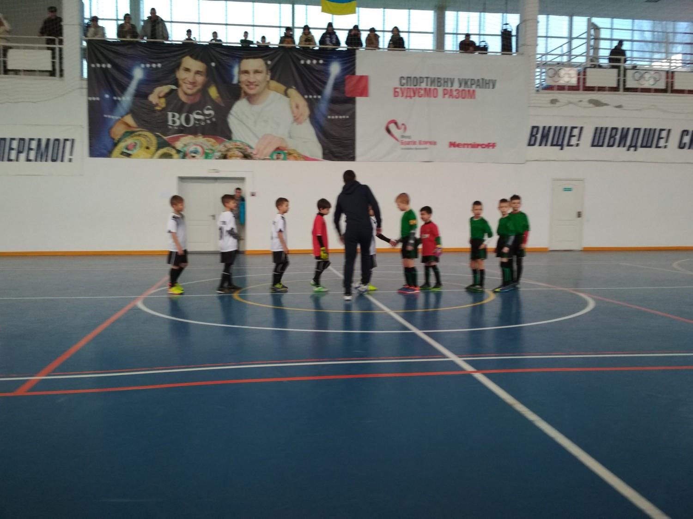 У Голій Пристані відбулися ігри чемпіонату Херсонщини з футзалу серед команд юнаків 2009/2010 року народження
