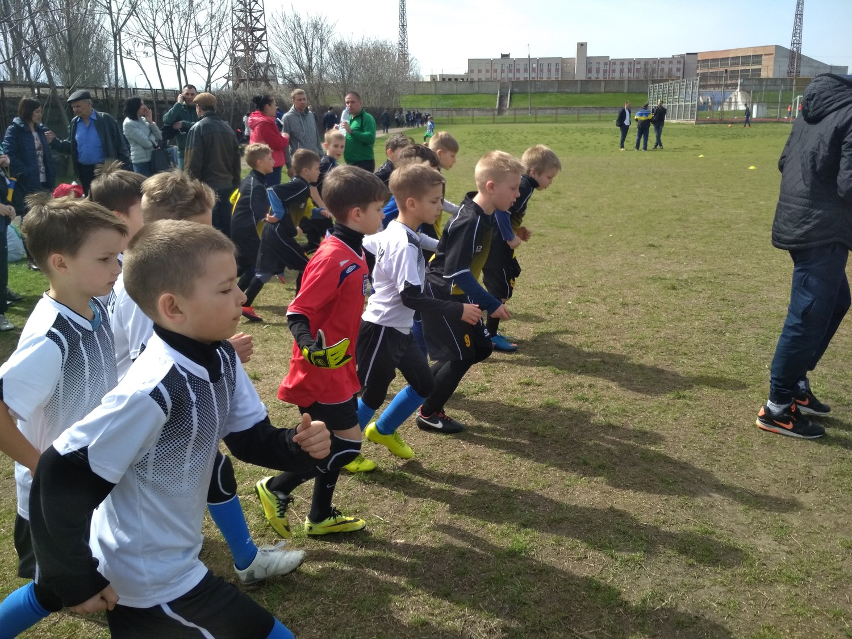 Голопристанські хлопчаки взяли участь у відкритому турнірі ДЮСШ