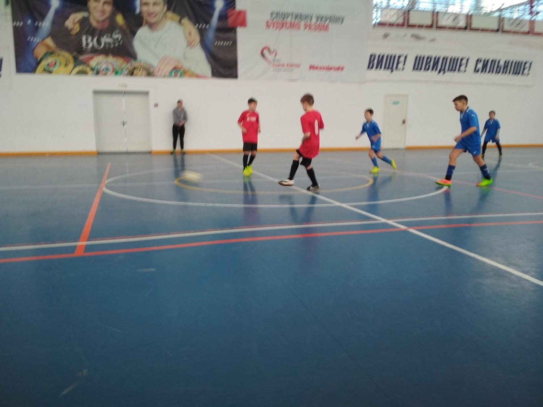 У Голій Пристані відбулись чергові ігри чемпіонату з футзалу серед команд юнаків 2005/2006 р.н.