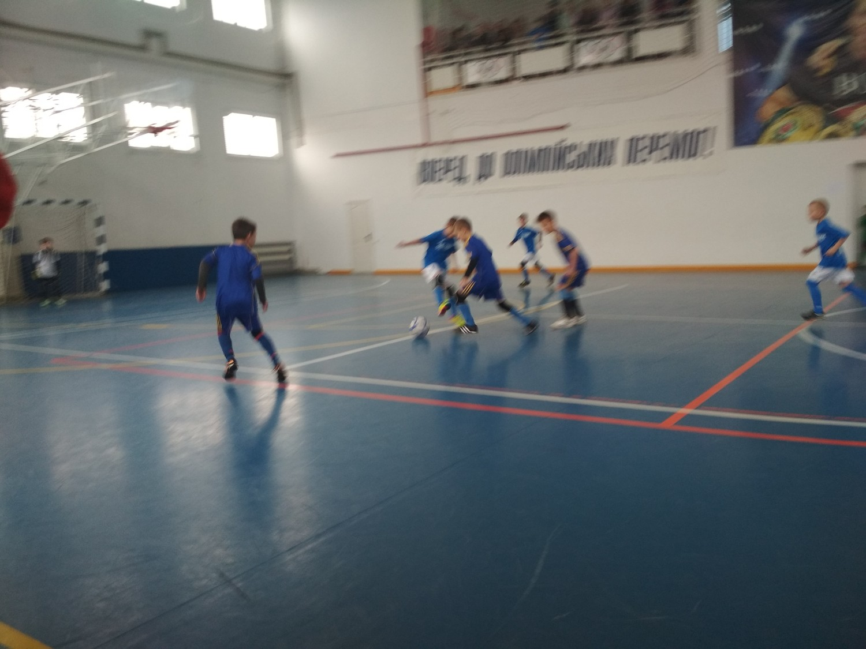 У Голій Пристані відбулись чергові ігри чемпіонату області з футзалу серед команд юнаків 2009/2010 років народження